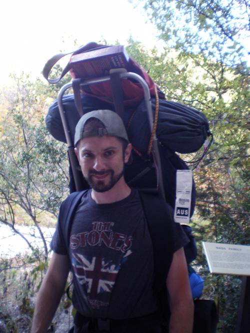 Backpacker Byron