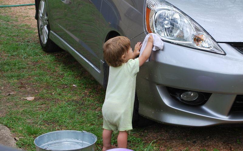 Washing Car